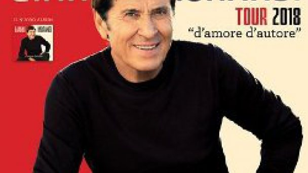 "HOTEL COLOMBO TOUR 2018 ""D'AMORE D'AUTORE"" PERFORMED BY FAMOUS ITALIAN SINGER GIANNI MORANDI JESOLO"